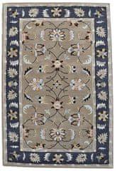 Kudos Textiles Ručne všívaný vlnený koberec DOO-44