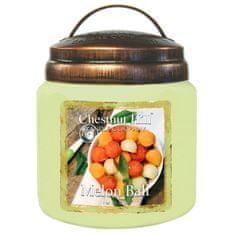 Chestnut Hill vonná svíčka Melon Ball (Koš melounů) 454 g