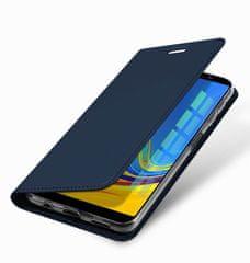Dux Ducis Skin Pro knížkové kožené pouzdro pro Samsung Galaxy A7 2018 A750, modré