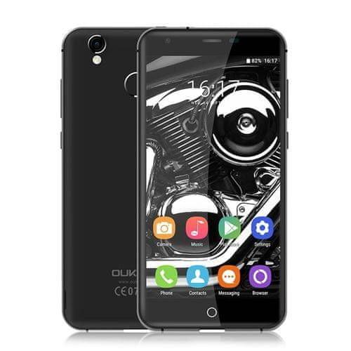 Oukitel K7000 černý 2/16GB, LTE, kovový, záruka 25 měsíců a servis