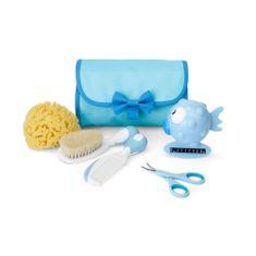 Chicco 5 darabos babaápolási készlet, kék