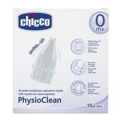 Chicco cserélhető tippek a PhysioClean nyálkahívóhoz, 10 db