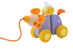 Sevi Hračka na ťahanie ohybná - Myška