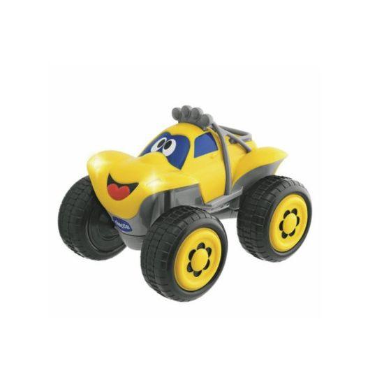 Chicco Billy autíčko na diaľkové ovládnie, žlté, od 2 rokov