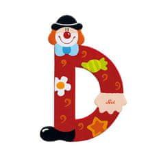Sevi Letter D - Clown