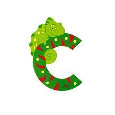 Sevi Letter C- Animal