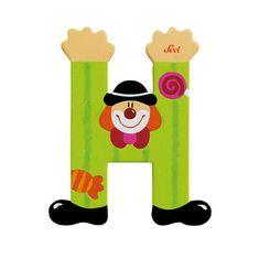 Sevi Letter H - Clown