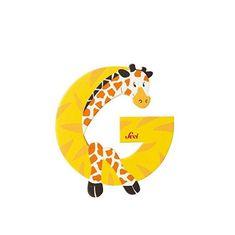Sevi Letter G - Animal