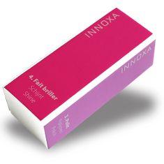 Innoxa VM-N99A, štvorstranná leštička na nechty, 9x3,6x2,9cm