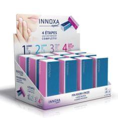Innoxa VM-N99A, čtyřstranná leštička na nehty, 9x3,6x2,9cm, 12ks v displeji