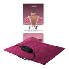 Vitammy HEAT Poduszka elektryczna, rubinowa