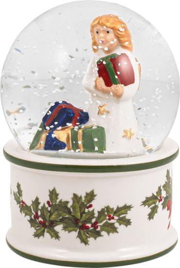 Villeroy & Boch Christmas Toys malá sněžná koule Anděl