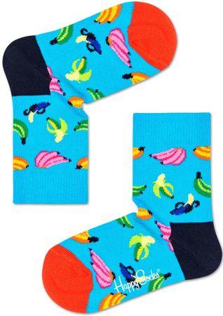 Happy Socks Banana Sock gyermek zokni, 12 -24, színes