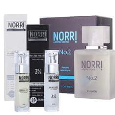 NORRI Pánský parfém + Anti-age hyaluron 3 + Hydratation cream