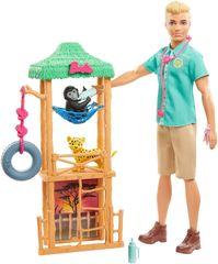 Mattel Barbie Ken a povolání herní set Ken veterinář
