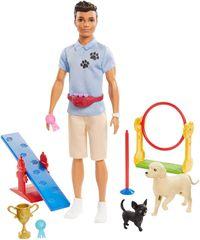Mattel Barbie Ken psi trener