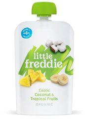 Little Freddie Kokos a tropické ovocie 6 x 100g