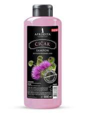 Kozmetika Afrodita šampon za lase, čiček, 1000 ml