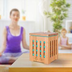 """GOLDSUN Aroma Difuzér """"Bamboo 200ml"""" osviežovač a zvlhčovač vzduchu - Svetlé drevo"""