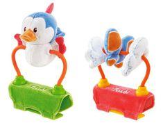 Trudi Plyšová hračka na kočík so zvukmi - Vtáčik