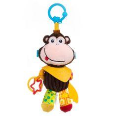 BalibaZoo závesná hračka s hryzátkom Opica Molly, od 0m