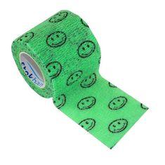 StokBan Samolepiaca bandáž 5x450cm, zelená s emoji