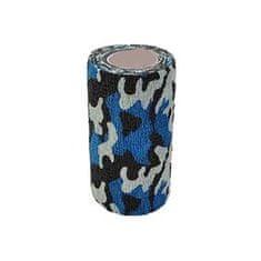 StokBan Samolepiaca bandáž 10x450cm, maskáčová modrá