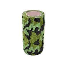 StokBan Samolepiaca bandáž 7,5x450cm, maskáčová zelená