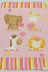Belpla Baby perla deka, 542, 80x110, ružová