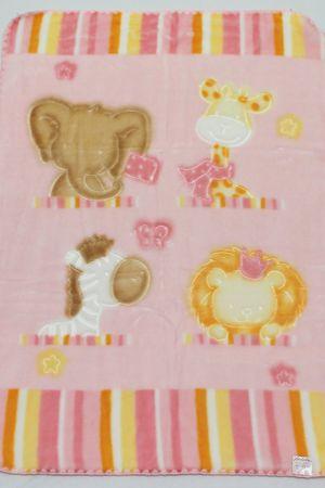 Belpla Kocyk Baby, 542, 80x110, różowy