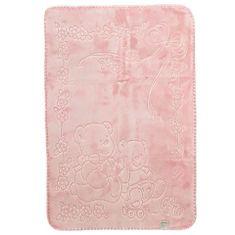 Belpla Baby gyöngyháztakaró, 518, 80x110, rózsaszín