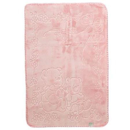Belpla Kocyk Baby, 518, 80x110, różowy