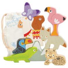 Le Toy Van Stohovanie Zvieratká z Ánd