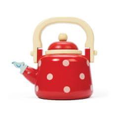 Le Toy Van Drevená kanvica na čaj bodkovaná