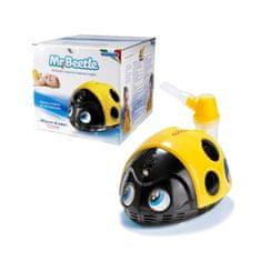 Magic Care MR. BEETLE Pneumatický pístový inhalátor s nebulizéry pro děti, brouček