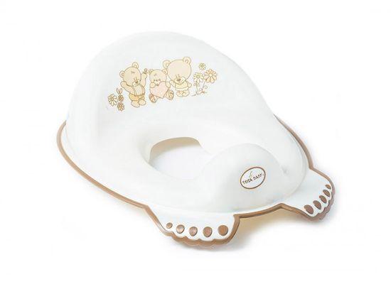 Tega Baby Adaptér na WC Teddy biela perleť
