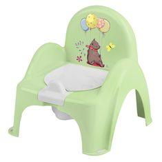 Tega Baby Lončarski stol Gozdna pravljica zelena