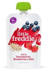 Little Freddie Jahody a čučoriedky s ovsenými vločkami 6 x 100g