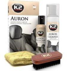 K2 K2 AURON LEATHER CLEAN & CARE SET - čistiaca sada na čistenie kože