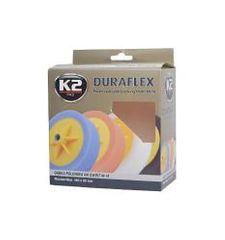 K2 K2 DURAFLEX leštiaca hubka s možnosťou úchytu 150 x 50 mm ORANŽOVÁ