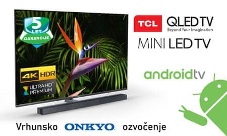TCL 65X10 4K LED, Android televizor