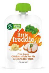 Little Freddie Zeleninovo-masový koláč z kuřecího masa z volného chovu s kapustou a sýrem 6 x 130g