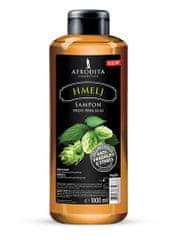 Kozmetika Afrodita šampon proti prhljaju, hmelj, 1000 ml
