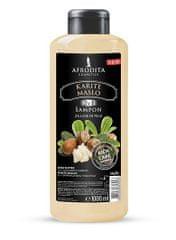 Kozmetika Afrodita šampon za lase in telo, karite maslo, 1000 ml