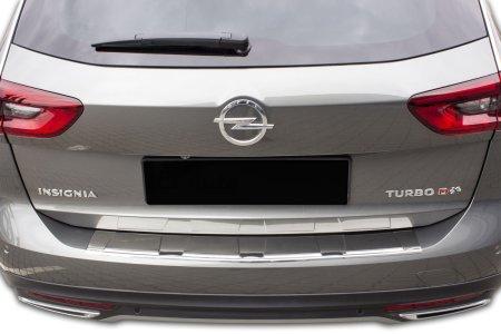 Croni Rozsdamentes acél lökhárító védőburkolat Opel Insignia B 2017- magasabb