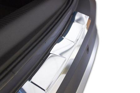 Croni Rozsdamentes acél lökhárító védőburkolat Nissan Tida2007- magasabb