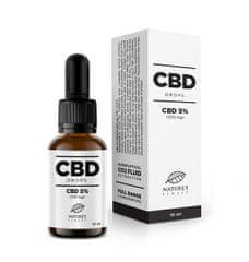 Nature's finest CBD kapljice 5% (500 mg)