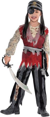 otroški gusarski kostum