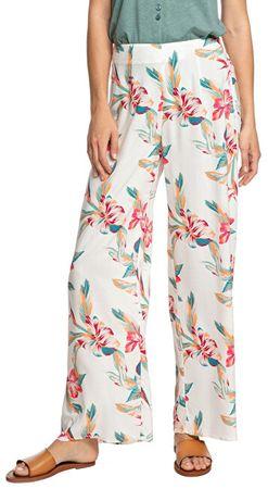 ROXY Damskie spodnie Beside Me Snow White Wywołanie Tropic ERJNP03288-WBK7 (Wielkość M)