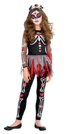 dekliški kostum Dan mrtvih